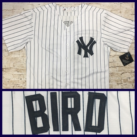 the latest 7d646 b0c08 FREE SHIP NY Yankees Greg Bird Stitched Jersey NWT